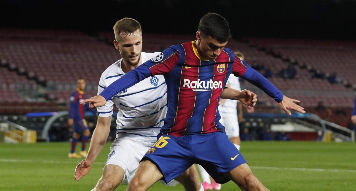 Барселона обіграла Динамо на своєму полі 4 листопада / фото REUTERS