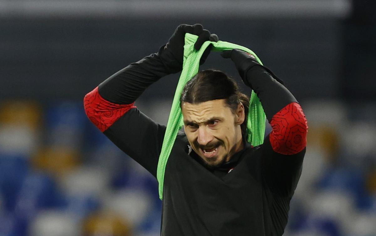 Златан Ібрагімович / фото REUTERS