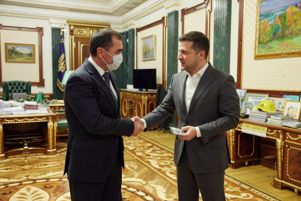 Президент назначил председателем Сумской ОГА Василия Хому / фото president.gov.ua