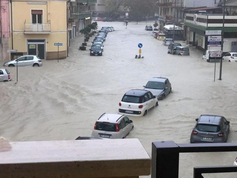 В Италии сильное наводнение из-за дождей / Фото: правительство Калабрии