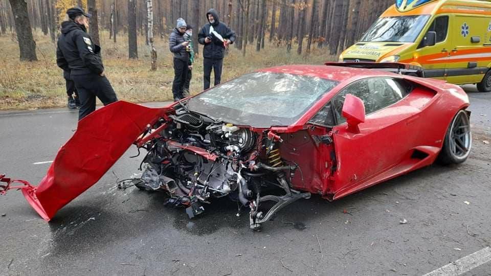 Під час ДТП постраждав актор, який був за кермом автомобіля / фото УНІАН