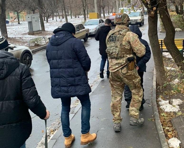 """В Харькове СБУ задержала снайпера """"ЛНР"""" / фото ssu.gov.ua"""