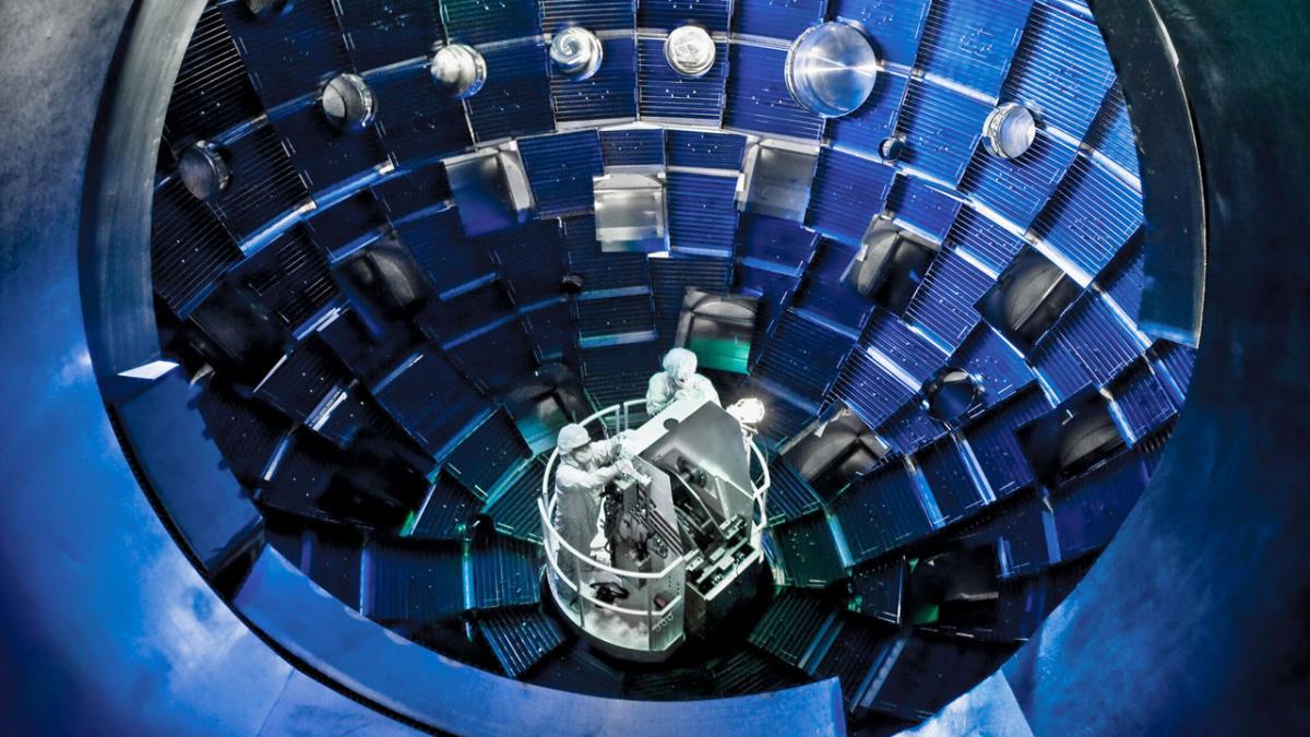 Американские физики стоят на пороге прорыва с термоядерными реакциями/ Lawrence Livermore National Laboratory (LLNL)