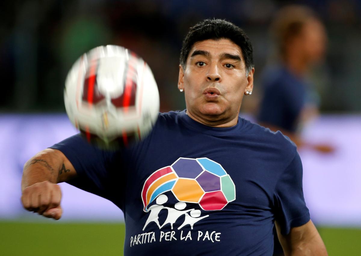 Диего Марадона умер в возрасте 60 лет / фото REUTERS