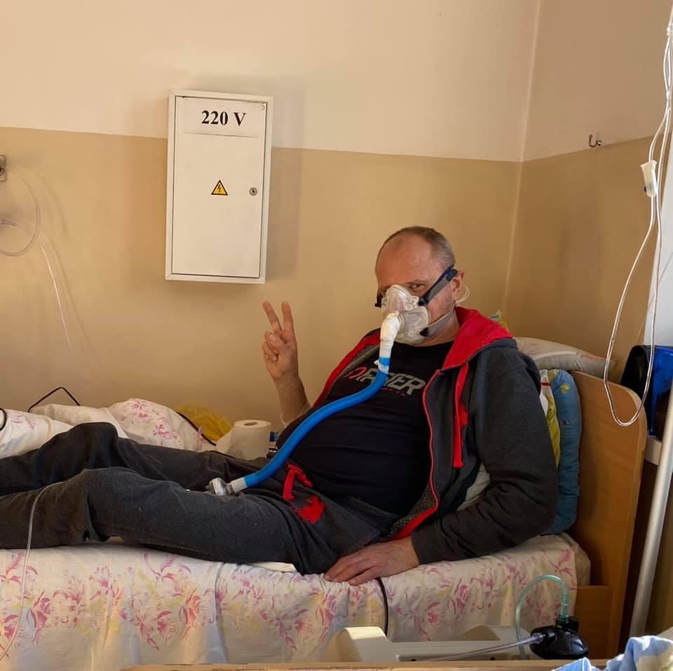 Остання прижиттєва фотографія Ігоря Цепенюка/ фотоВалентина Цепенюк