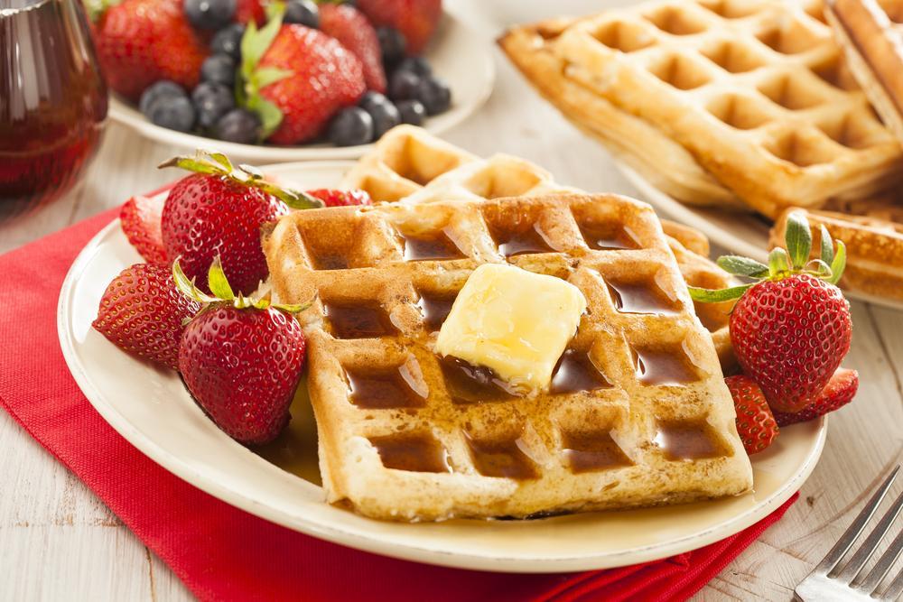 Сладкие бельгийские вафли рецепт / фото ua.depositphotos.com