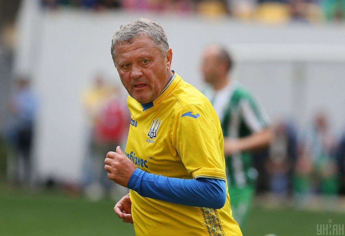 Мирон Богданович у файній формі / фото УНІАН