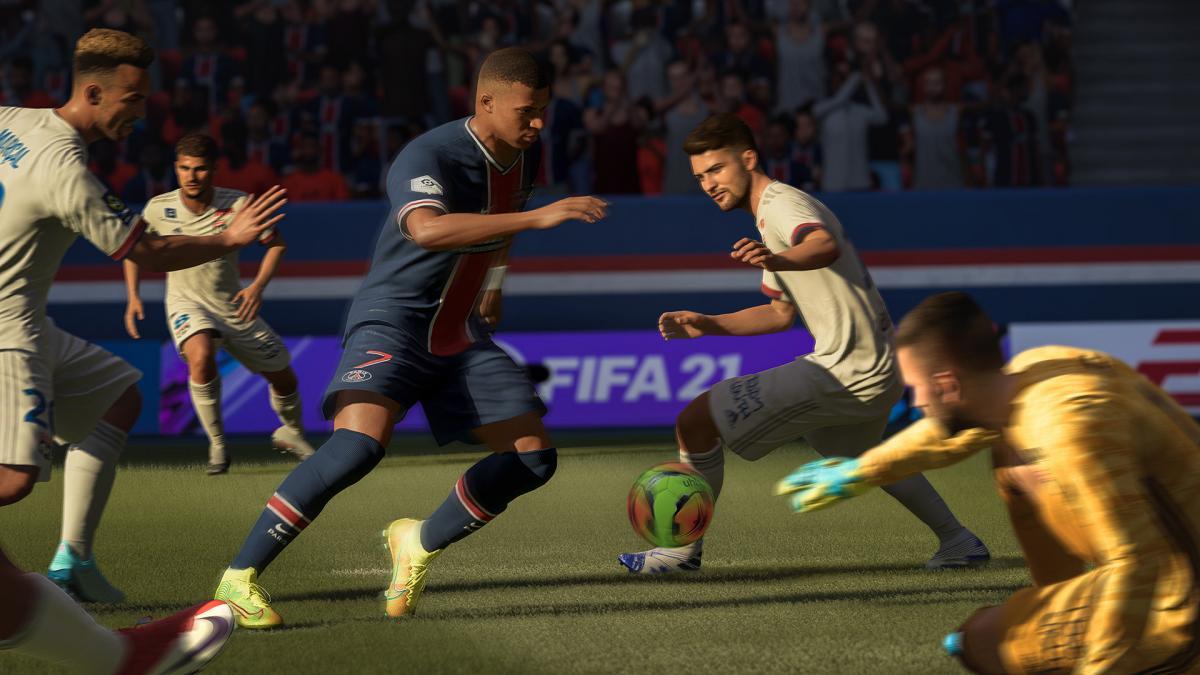 Игра FIFA21 /фото Electronic Arts