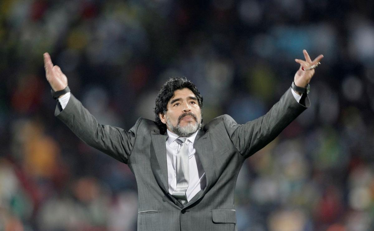 Диего Марадона / фото REUTERS