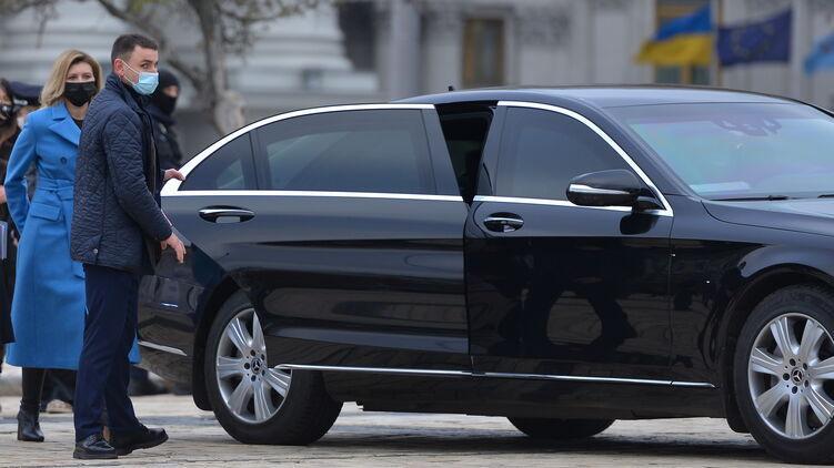 Елена Зеленская ездит на Mercedes Benz S 500 / фото strana.ua