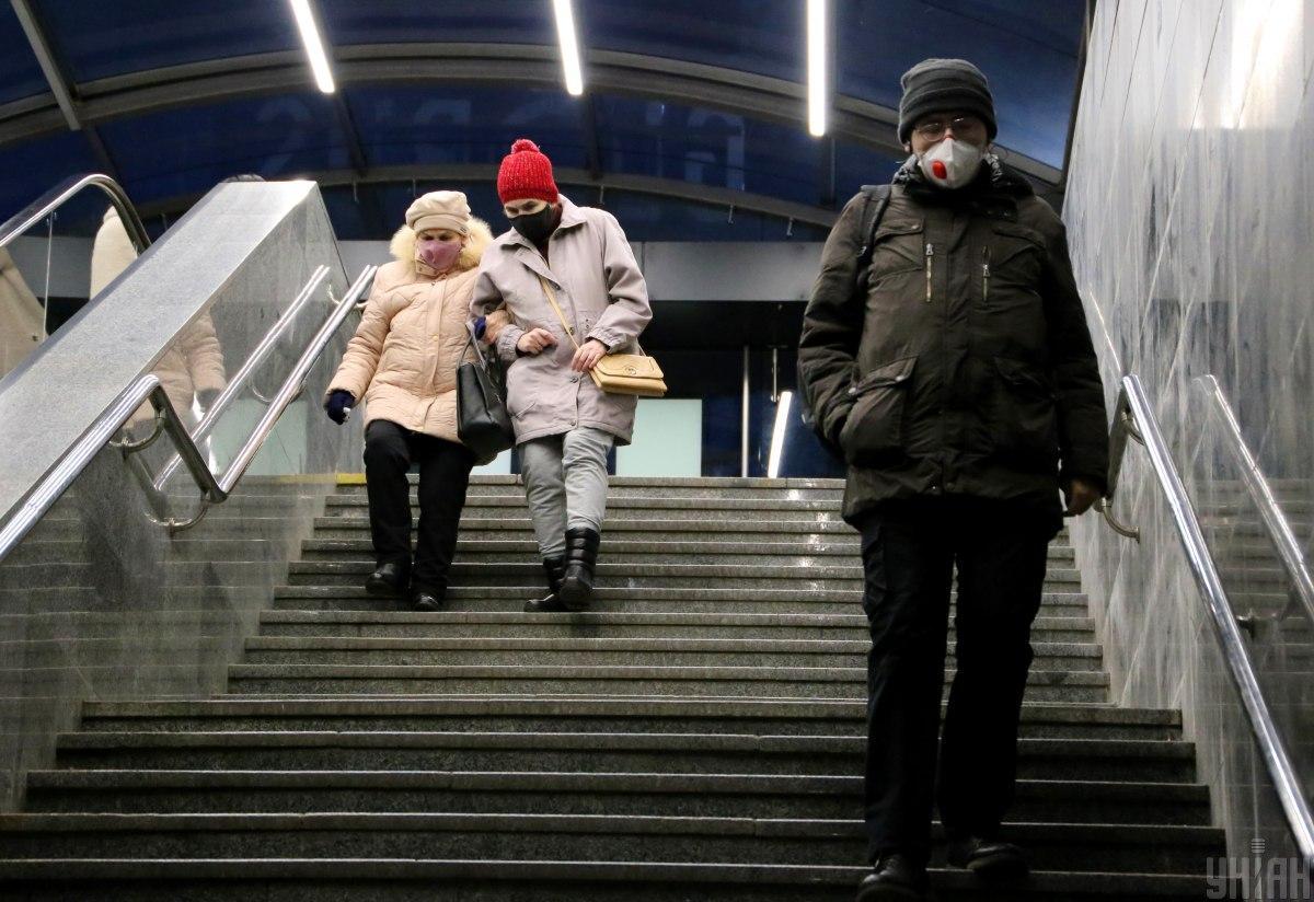 Пиковые периоды заболеваемости COVID-19 в Украине могут наблюдаться в середине января - середине февраля / фото УНИАН, Денис Прядко