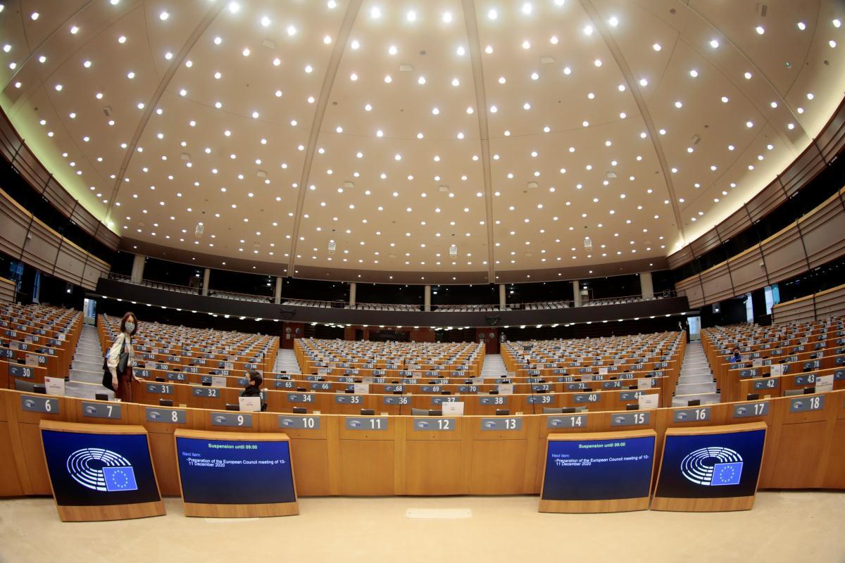 Европарламент осудил агрессию РФ в отношении Украины / фото REUTERS
