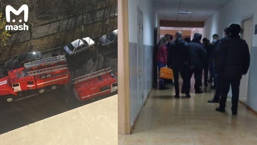 Участников инцидента доставилив полицию / фото Mash
