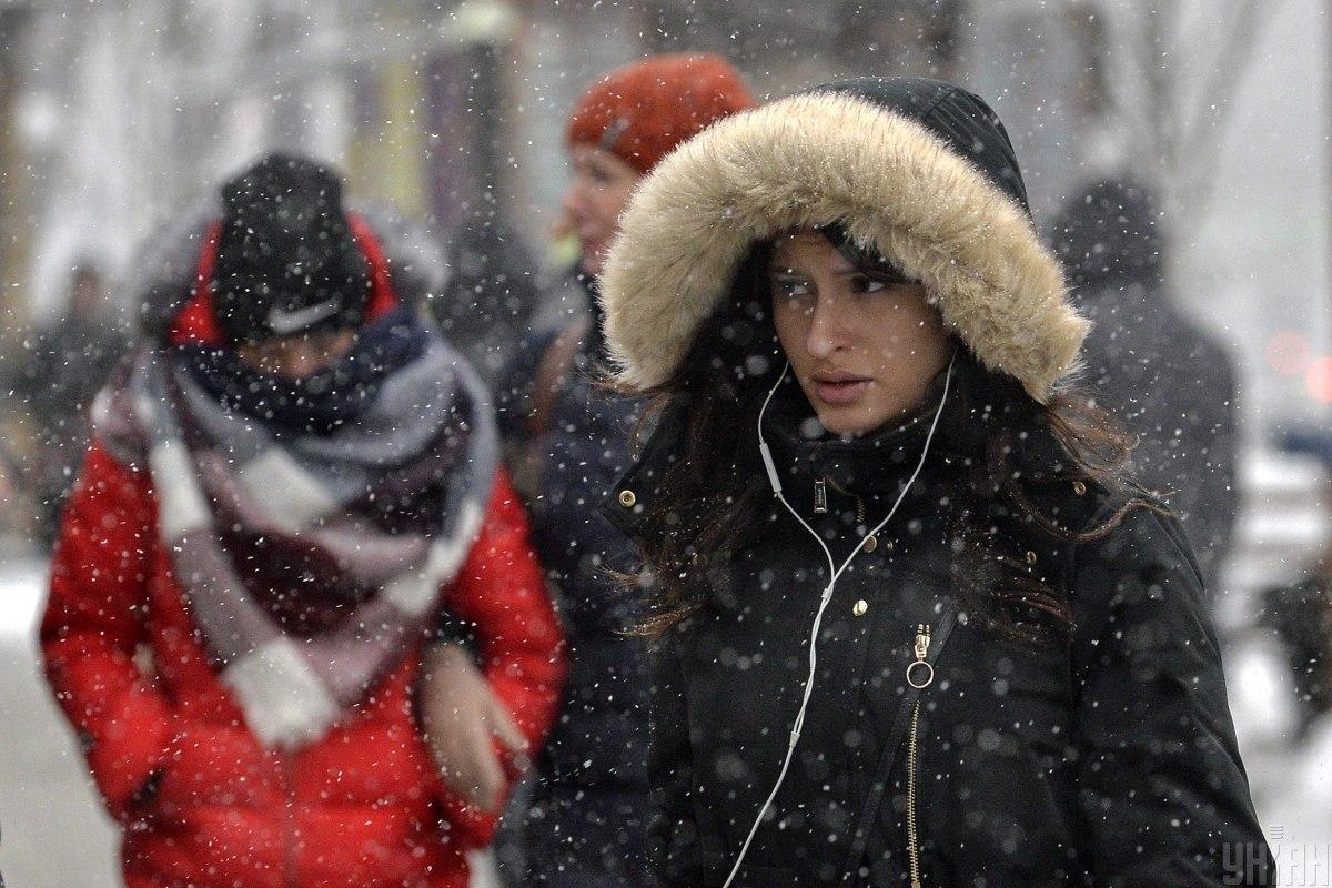 В Киеве снова ожидается снегопад / фото УНИАН