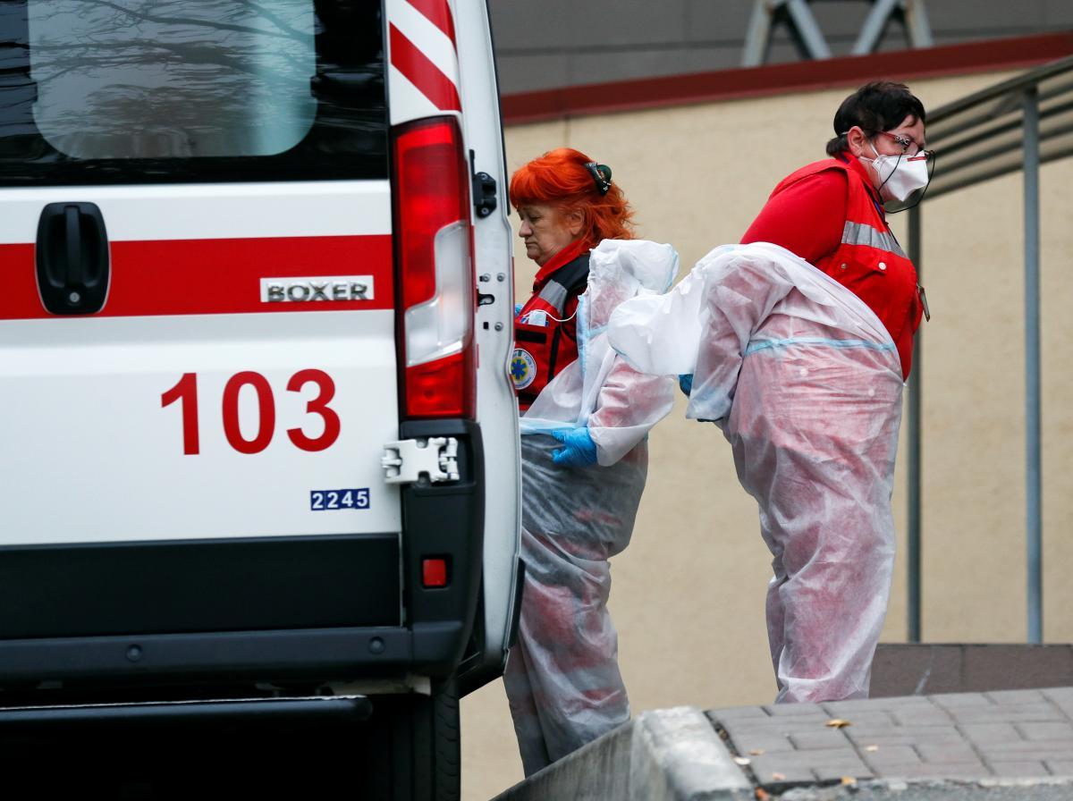 Україна зараз перебуває в одному з найважчих періодів пандемії коронавірусу / фото REUTERS