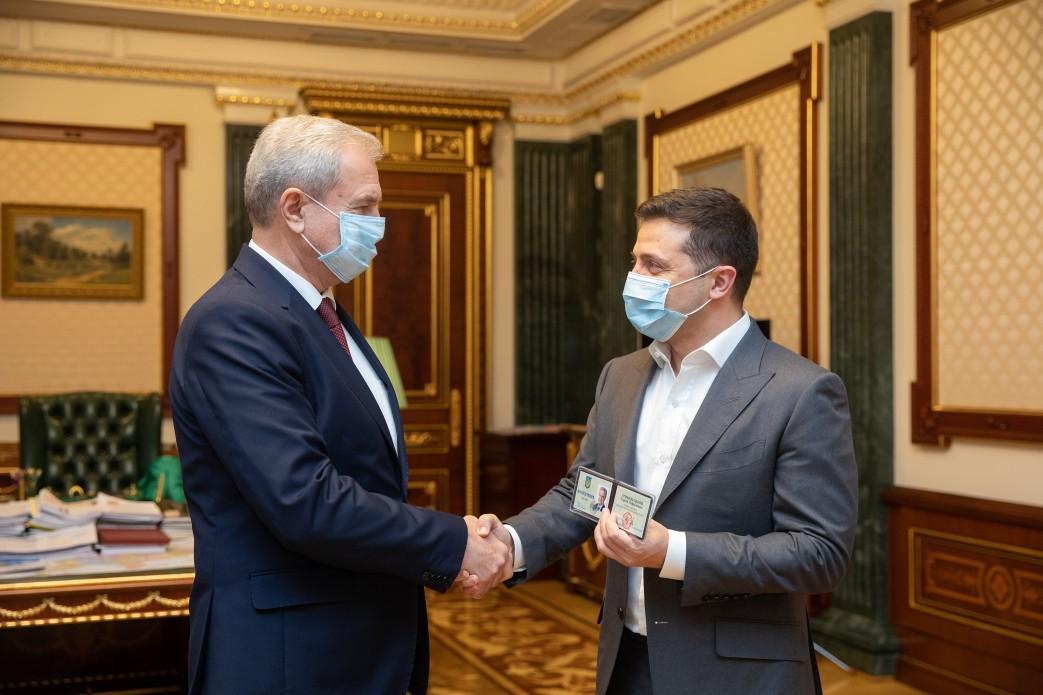 Гриневецкий на встрече с Зеленским / фото president.gov.ua