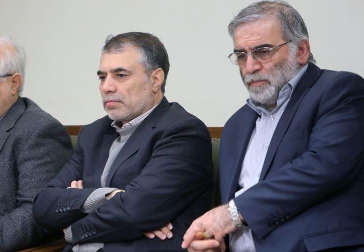Поблизу Тегерану вбили Фахрізаде (на фото праворуч), який керував ядерною програмою Ірану/ фото Radio Farda