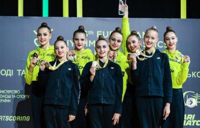 Українські гімнастки / фото instagram.com/team_ukraine_rg