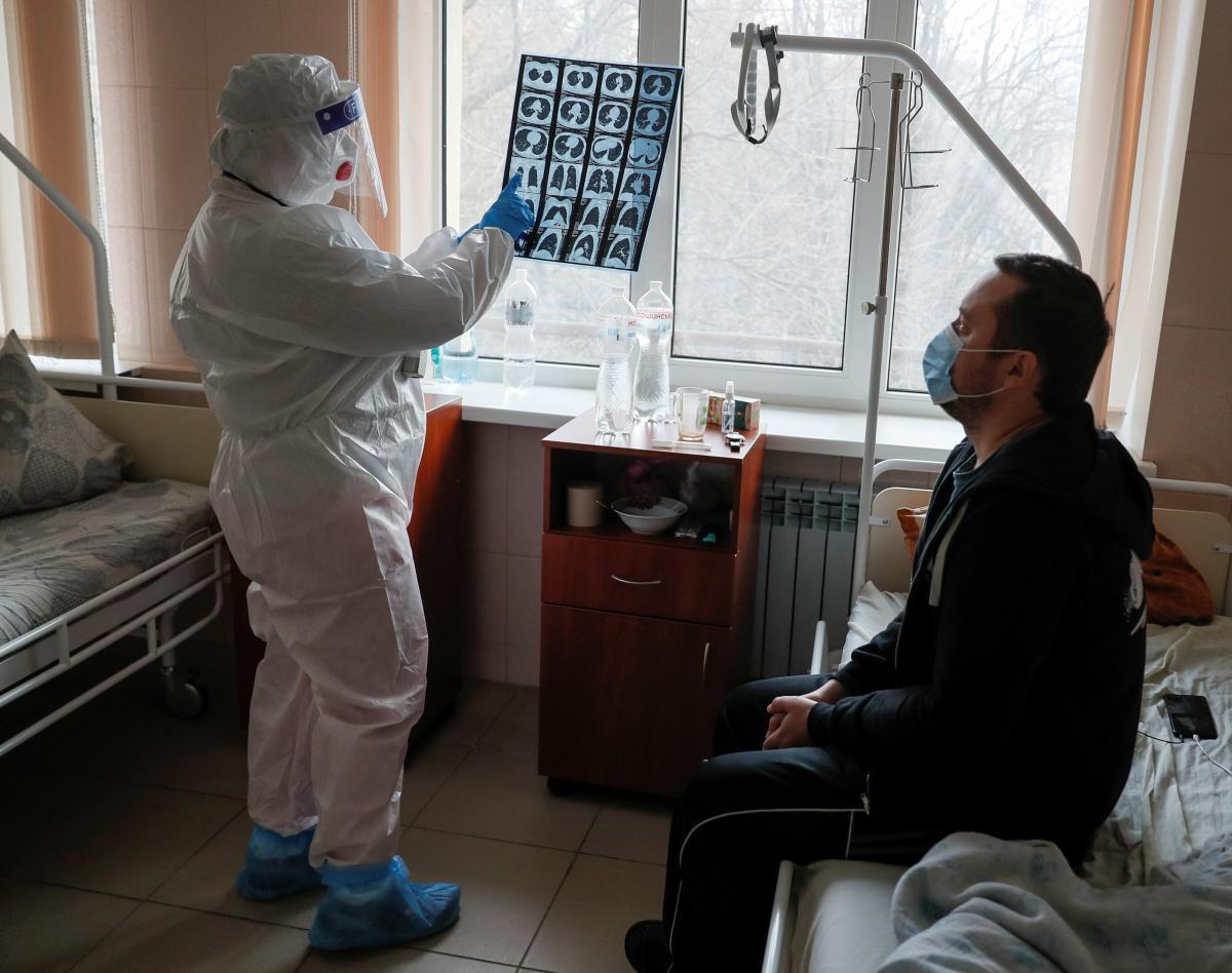 Ситуация с коронавирусом в Украине 6 декабря / REUTERS