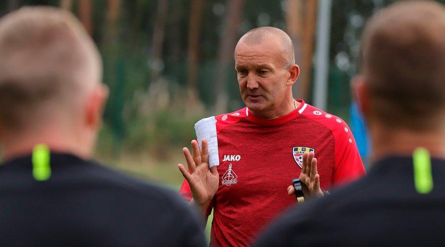 Григорчук тренує Шахтар з вересня / фото ФК Шахтар Солігорськ