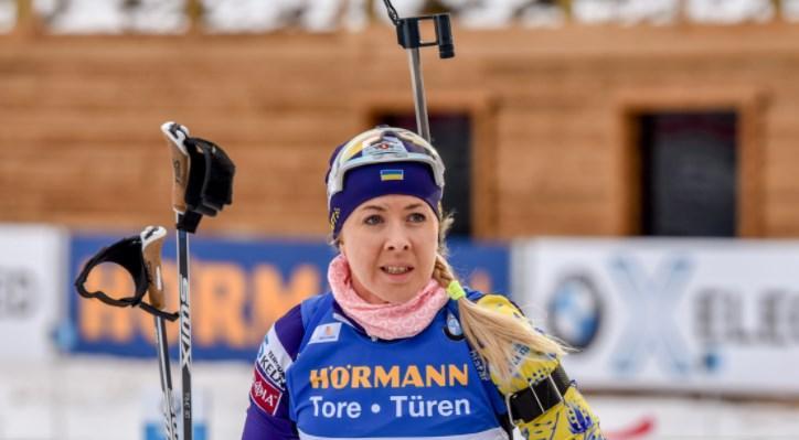 Джима закрыла все мишени / фото biathlon.com.ua