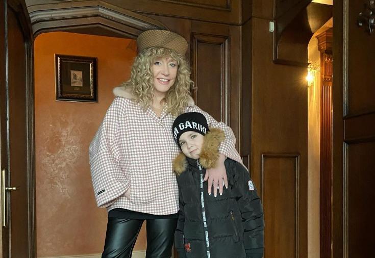 Пугачева с cыном Гарри / фото instagram.com/maxgalkinru