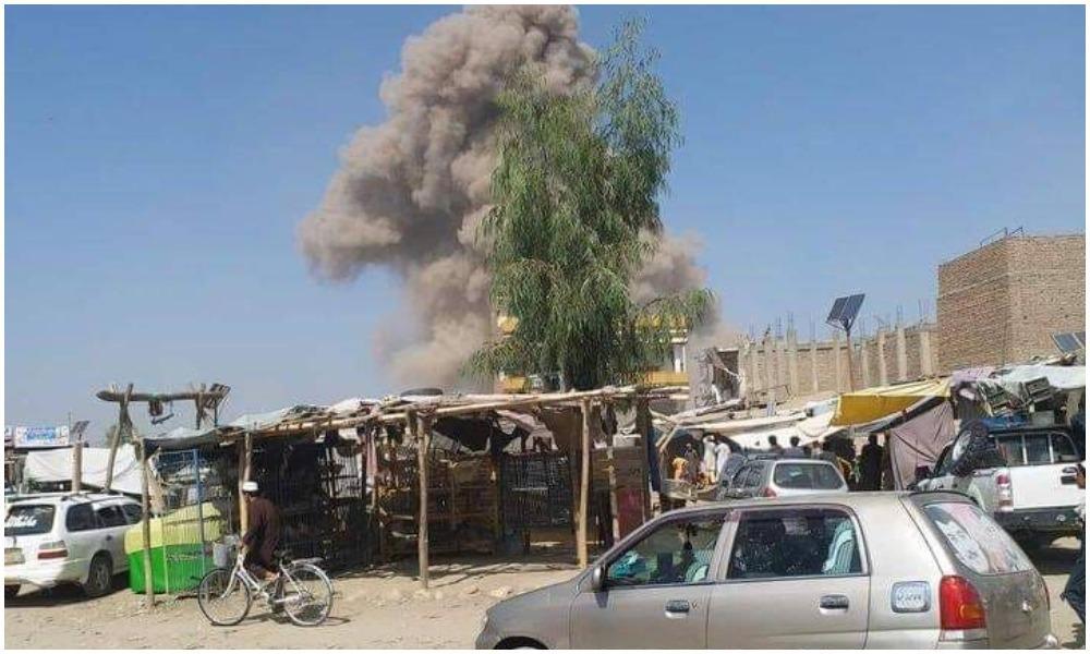 В Афганистане террорист-смертник атаковал военную базу / фото ariananews.af