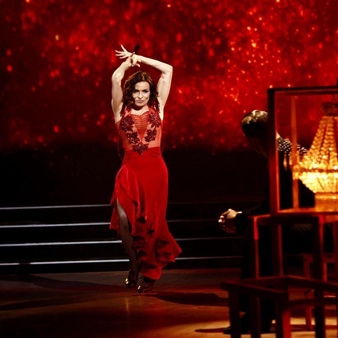 Мейхер станцевала фламенко / фото instagram.com/tanci1plus1