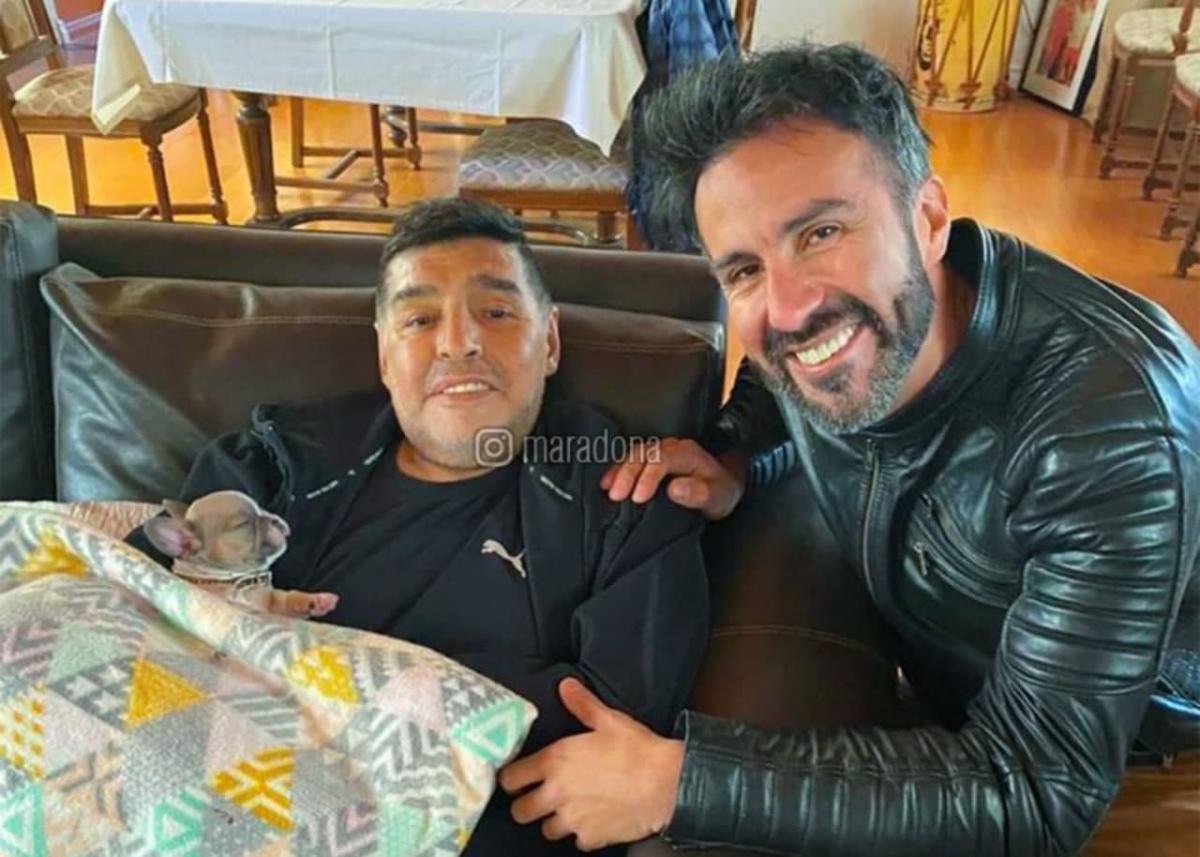 Лікаря Марадони підозрюють у вбивстві з необережності / фото Diego Maradona / Instagram