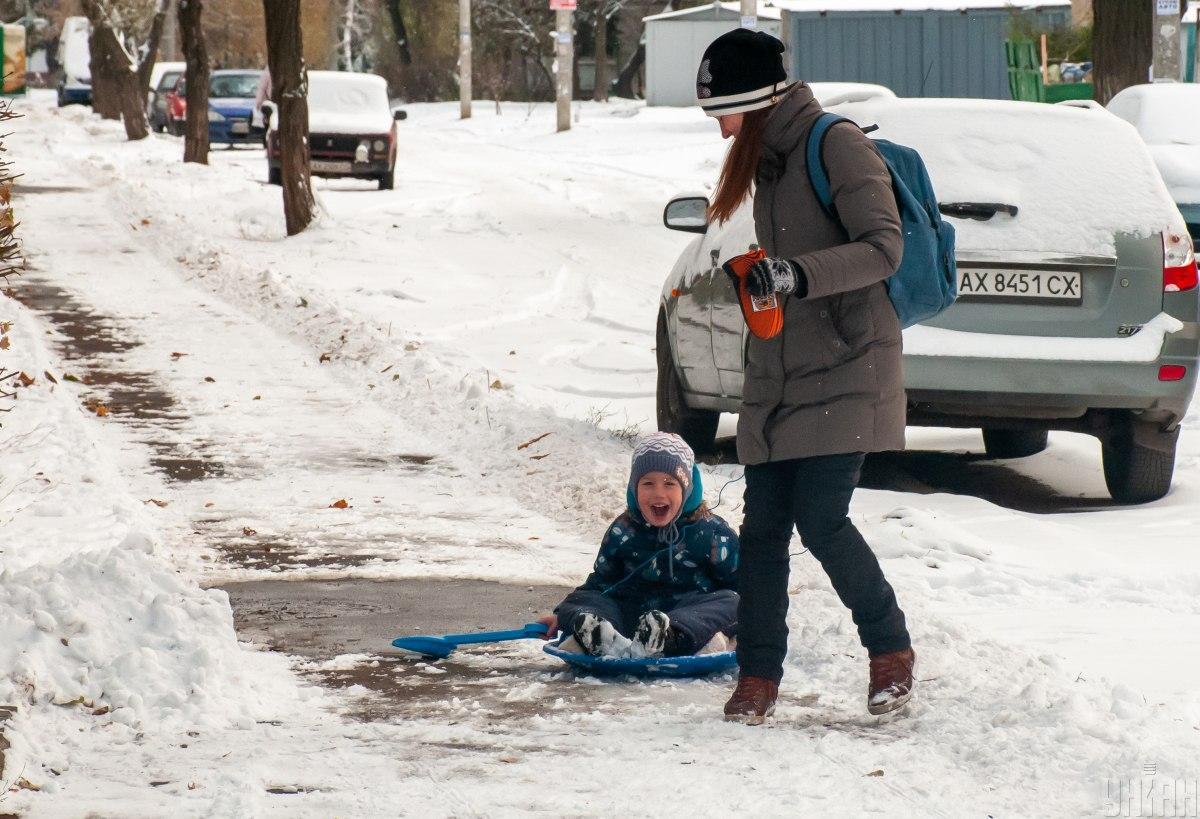 Некоторые области завтра порадует снег / фото УНИАН