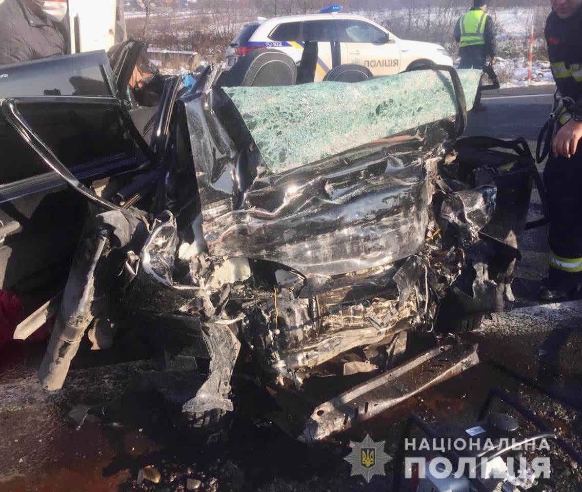 Сообщается о четырех погибших в результате ДТП / фото Нацполиция