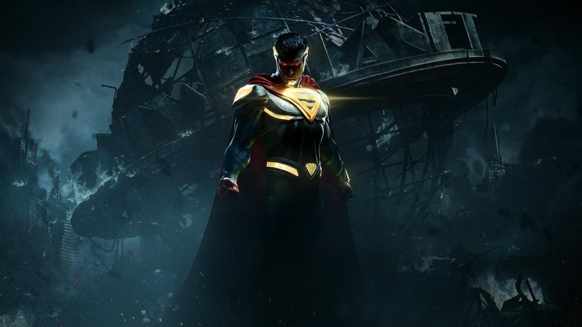 Кадр з другої частини гри Injustice / фото WB Games