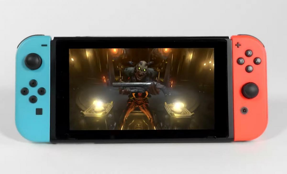 DOOM Eternal выходит на Nintendo Switch 8 декабря /скриншот из трейлера