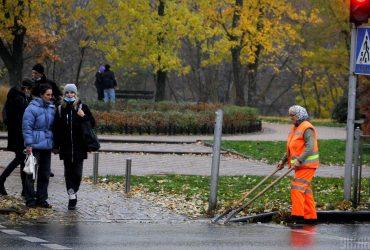 Сегодня киевлян ждет пасмурная осенняя погода, но без дождей