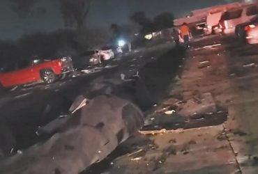 Над Техасом промчав буревій: швидкість вітру сягала 130 кілометрів за годину (фото, відео)