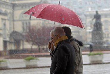 На выходных в Украину вернется снежная погода, температура днем упадет до 0° (карта)