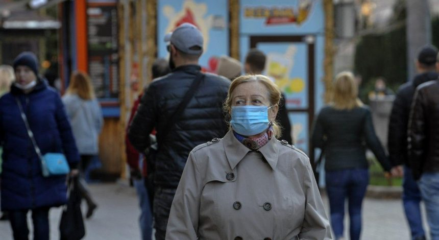 Ukraine reports over 10,100 new COVID-19 cases in past 24 hours