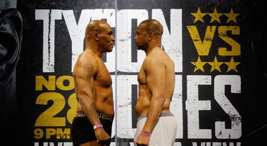 Тайсон - Джонс: де дивитися бій легенд боксу
