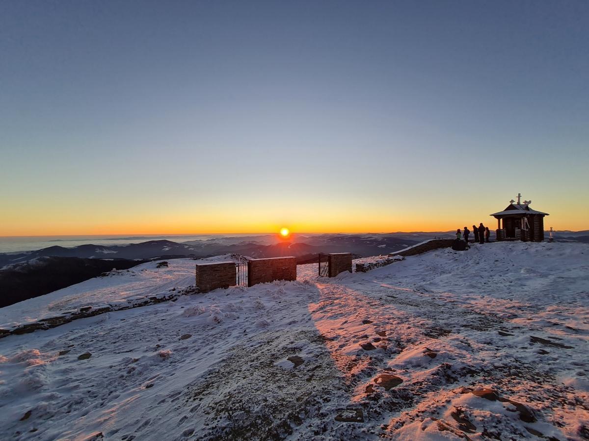 В Карпатах - холодно и лежит снег / Фото Черногорский горный поисково-спасательный пост