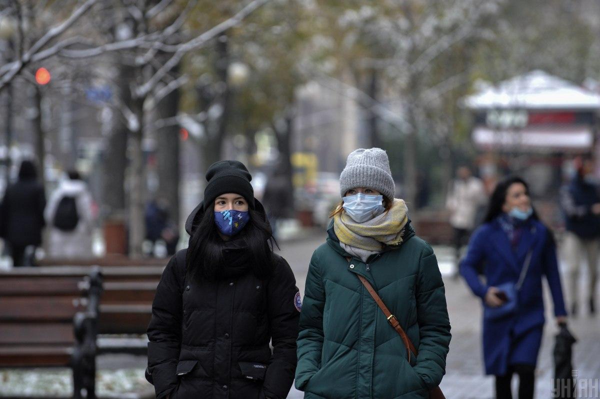 Стало відомо, скільки людей інфікувалися коронавірусом у Києві – статистика на 1 грудня / фото УНІАН