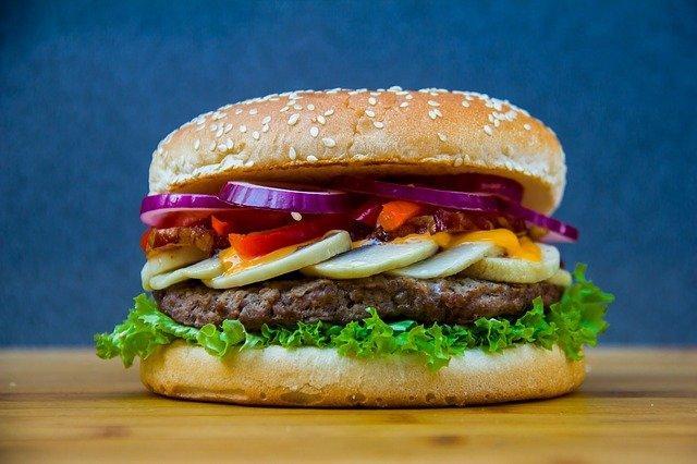 Бургер классический рецепт /фото pixabay