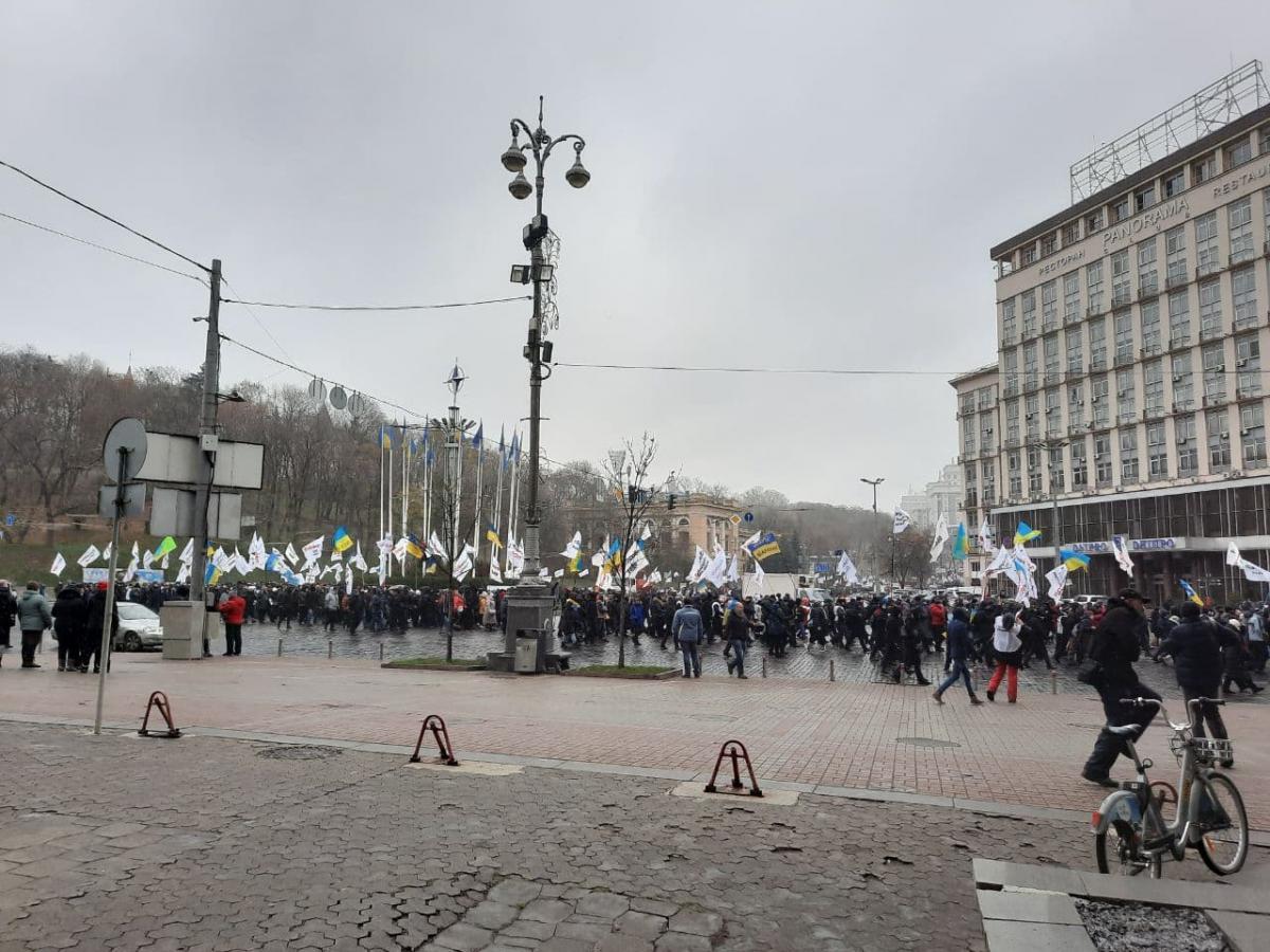 У Києві знову мітингують ФОПи / УНІАН