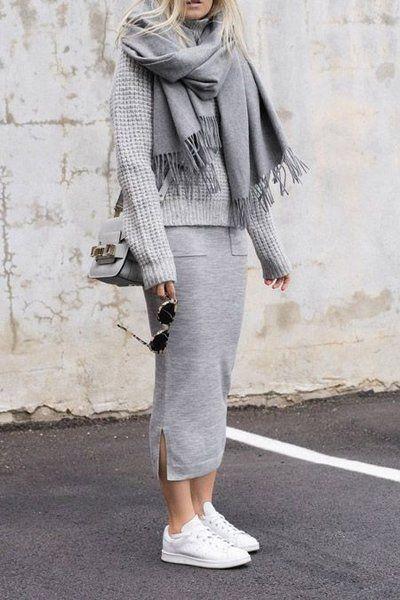 Модный шарф / фото pinterest.com