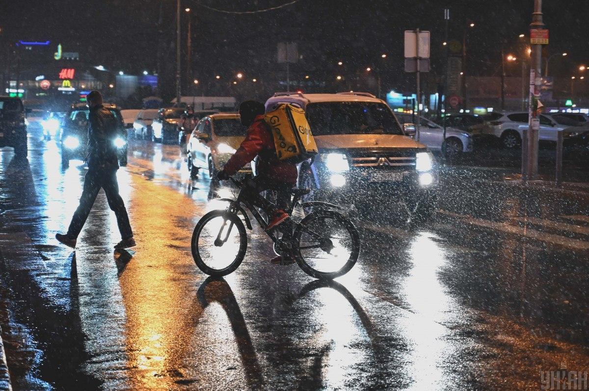Погода в Киеве - к вечеру в столице усилится снегопад / Фото УНИАН, Вячеслав Ратинский