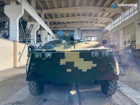 В Києві відновили партію БТР-80 для армії/ Укроборонпром