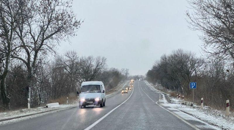Гололедна одесской трассе / фото usionline