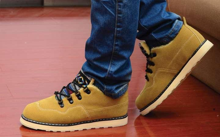 Мужская зимняя обувь в спортивном стиле /фото pinterest.com