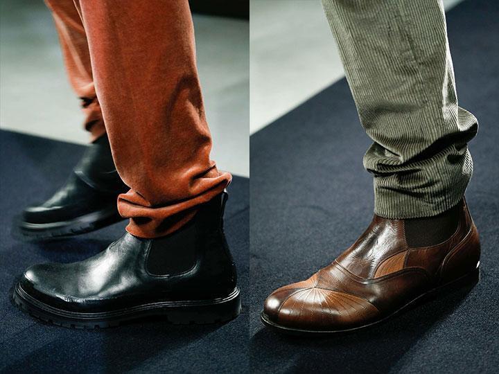 Нестандартная мужская зимняя обувь /фото pinterest.com