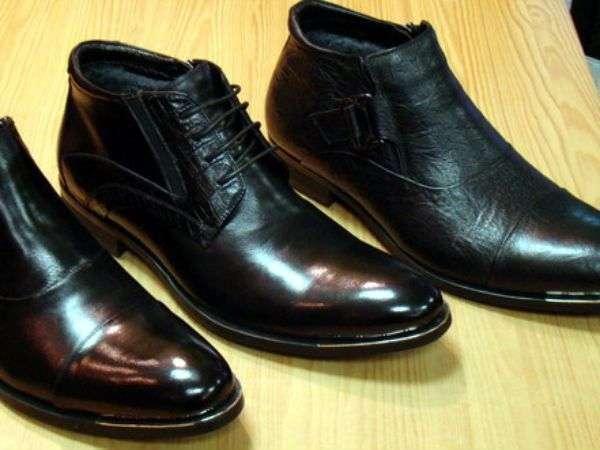 Класичні чоловічі зимові черевики /фото pinterest.com