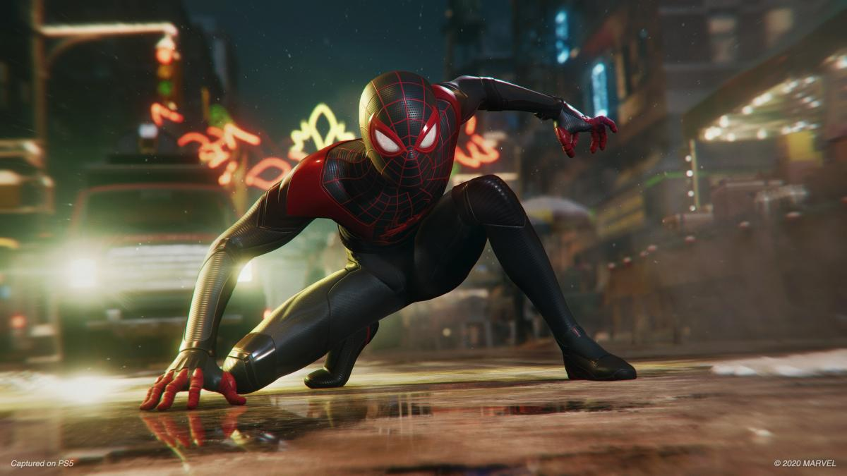 Кадр из Marvel's Spider-Man: Miles Morales /фото Insomniac Games